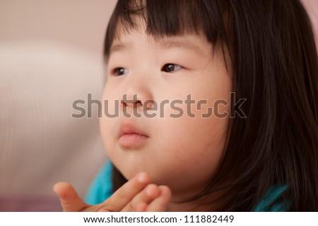 Beautiful East Asian Toddler Girl