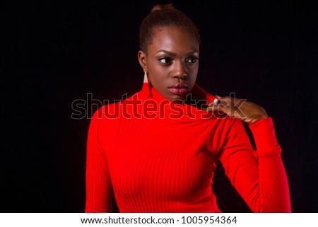 Beautiful Ebony female #1005954364