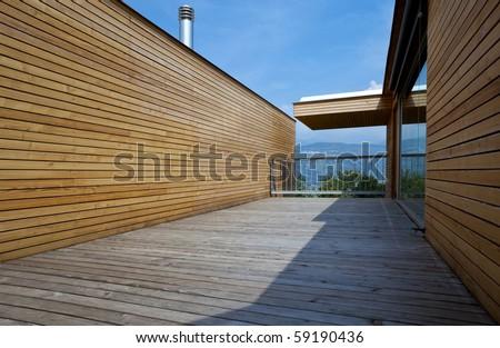 beautiful ecologic house