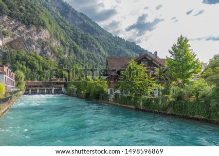 Beautiful exploration tour through the mountains in Switzerland. - Interlaken/Switzerland #1498596869