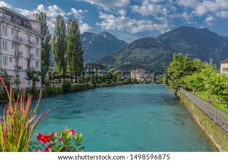 Beautiful exploration tour through the mountains in Switzerland. - Interlaken/Switzerland #1498596875