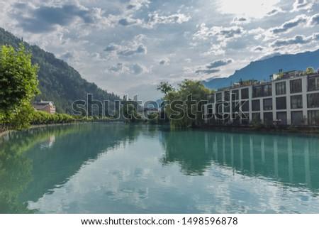 Beautiful exploration tour through the mountains in Switzerland. - Interlaken/Switzerland #1498596878