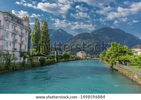 Beautiful exploration tour through the mountains in Switzerland. - Interlaken/Switzerland #1498596884