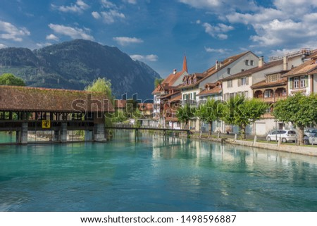 Beautiful exploration tour through the mountains in Switzerland. - Interlaken/Switzerland #1498596887