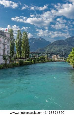 Beautiful exploration tour through the mountains in Switzerland. - Interlaken/Switzerland #1498596890