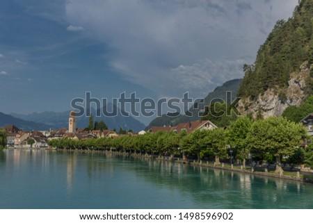 Beautiful exploration tour through the mountains in Switzerland. - Interlaken/Switzerland #1498596902