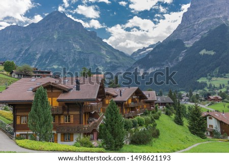 Beautiful exploration tour through the mountains in Switzerland. - Lauterbrunnen/Switzerland #1498621193