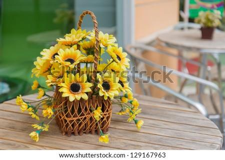 beautiful fake flower