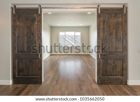 Beautiful Farm House Double Barn Doors