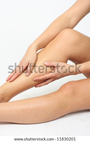 stock photo Beautiful Feet Wellness
