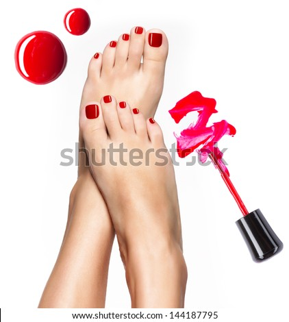 how to use pedicure nail brush