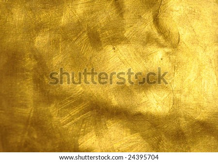 Brushed Golden Texture