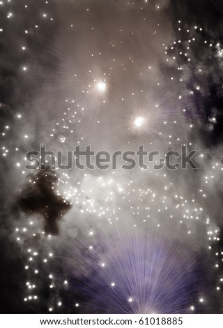 Beautiful fireworks display at Zurrieq during the Feast of St. Catherine 2010