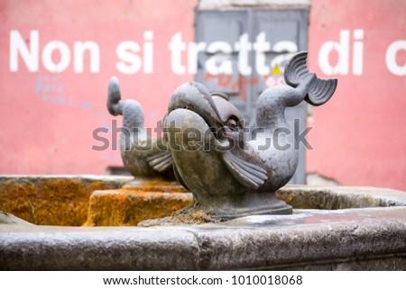 beautiful fish shaped sculpture ...