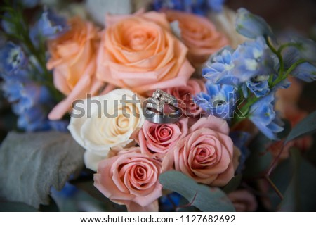 Beautiful floral arrangement #1127682692