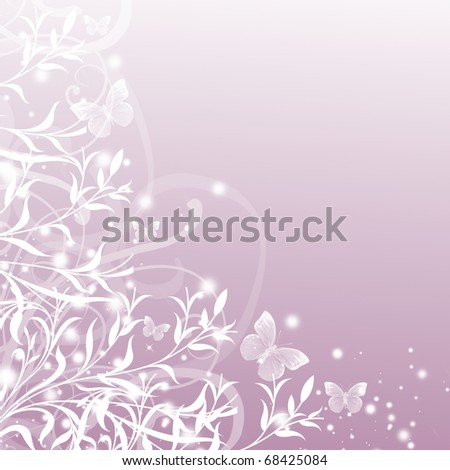 stock photo Beautiful floral patternwedding invitation with floral