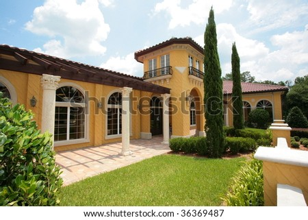 Beautiful Florida Style Home