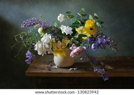 Beautiful flowers still life