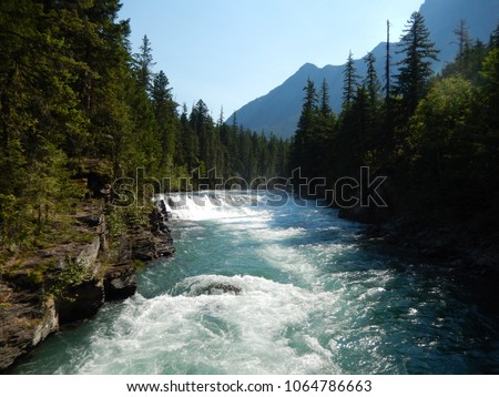 Beautiful Flowing River