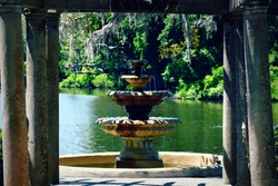 Beautiful Fountain in Wilmington, North Carolina
