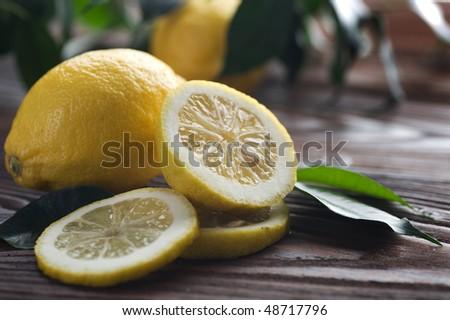 Beautiful Fresh Lemon