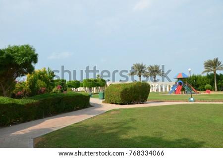 Beautiful garden city Al Ruwais, Qatar