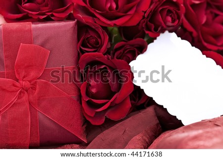 Beautiful Dozen Red Roses Box with a dozen red roses