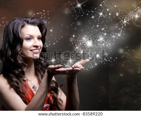 Beautiful Girl and her Magic
