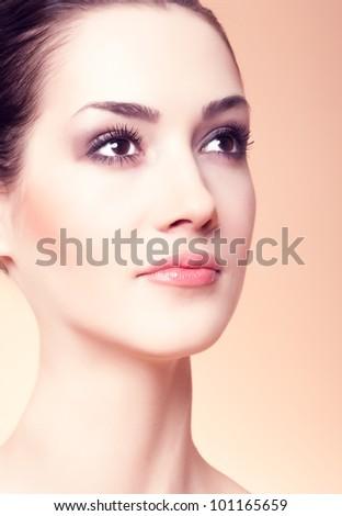 Beautiful Girl face.