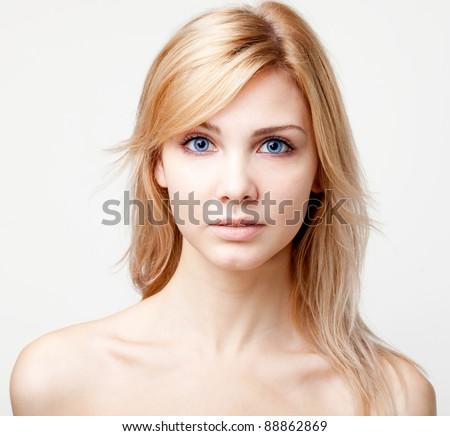 Beautiful Girl face #88862869
