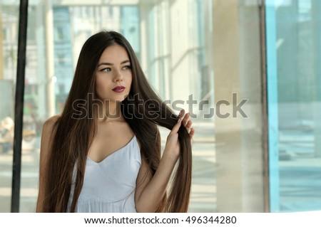 Free Photos Hair Beautiful Brown Haired Girl Healthy Long Hair