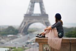 Beautiful girl in Paris