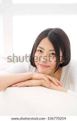 Beautiful girl relaxing
