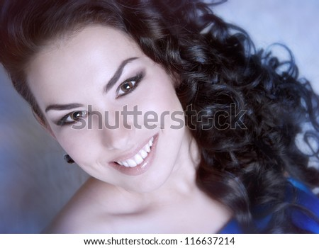 beautiful girl with gorgeous smile