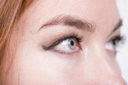beautiful gray eyes