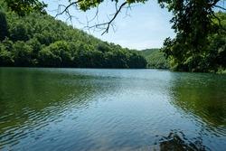 beautiful green lake, saklıgöl lake, istanbul