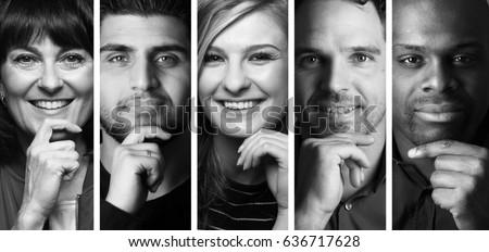 Beautiful group of people