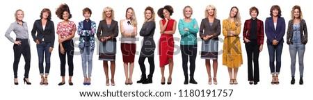 Beautiful group of women #1180191757