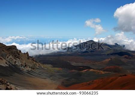 Beautiful Haleakala National Park Maui Island Hawaii