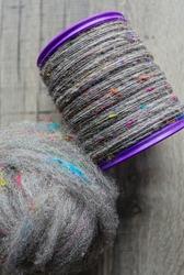 Beautiful handspun yarn, spun on a Spinning Wheel like in oldfashioned times