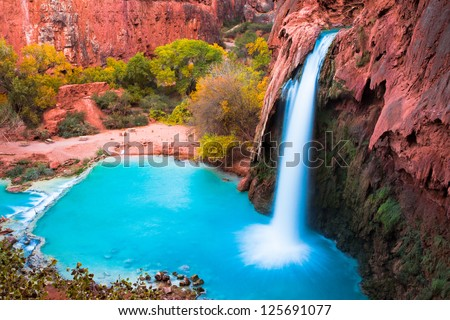 Beautiful Havasu Falls,Supai, Arizona