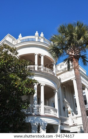 Beautiful home in historical part of Charleston, South Carolina