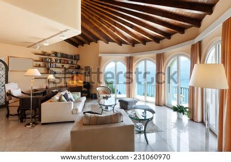 beautiful house interior ...