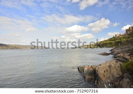 Beautiful Hudson River #752907316