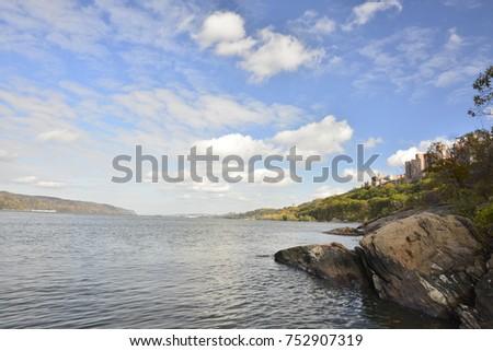 Beautiful Hudson River #752907319