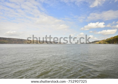 Beautiful Hudson River #752907325