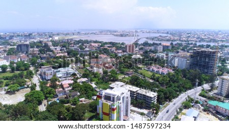 BEAUTIFUL IKOYI SKYLINE LAGOS NIGERIA #1487597234