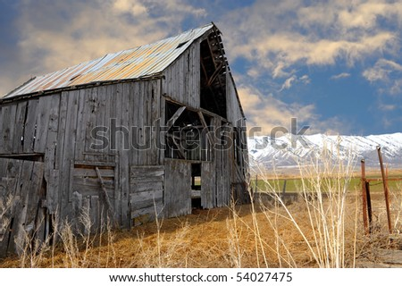 Beautiful Image of a classic barn In America