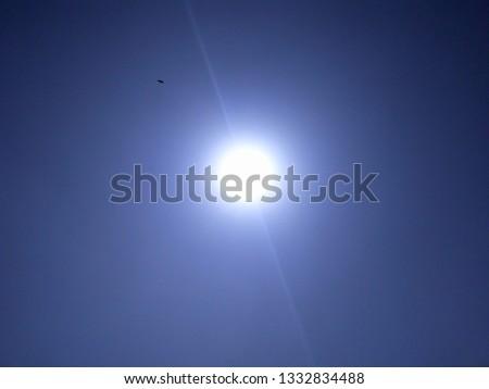 beautiful image of sun shining, sun lenses, sun shining on sky #1332834488