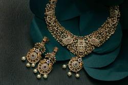 beautiful Indian  jewellery in low light